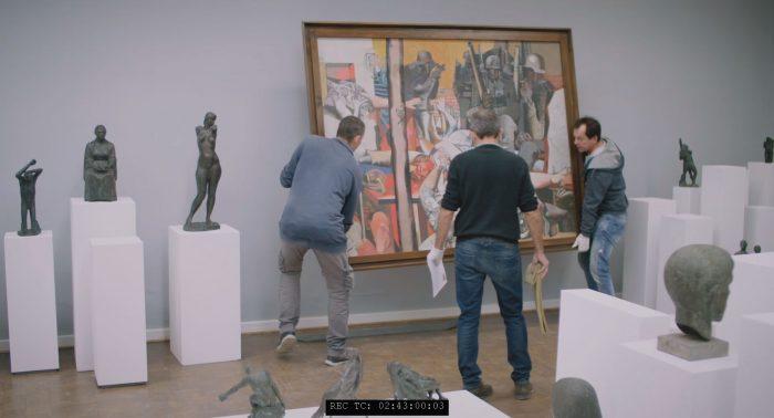 Sitte Cremer Ausstellung Kunsthalle Rostock - Gemäldehängungen