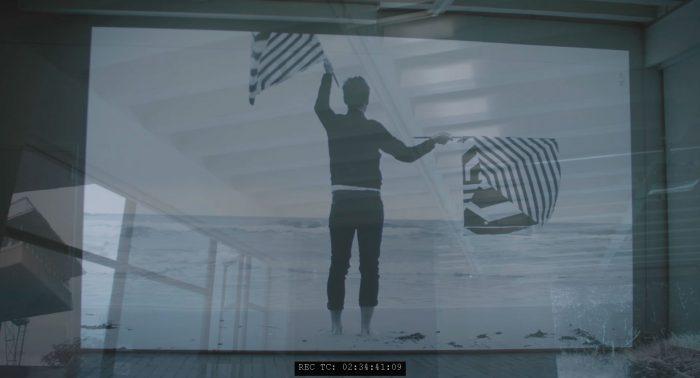 Ausstellung Maix Mayer Projektion Superimpose