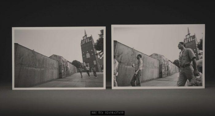 Foto-Installation Rheinsberg