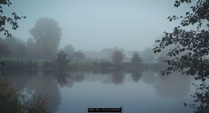 Kunsthalle Rostock im Nebel