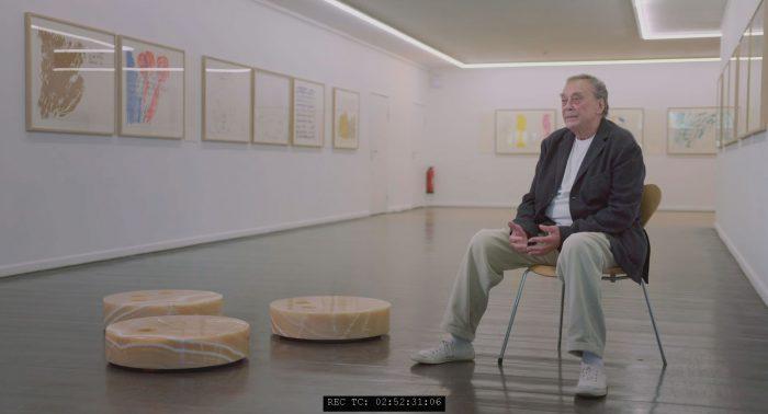 Künstler Günther Uecker Kunsthalle Rostock